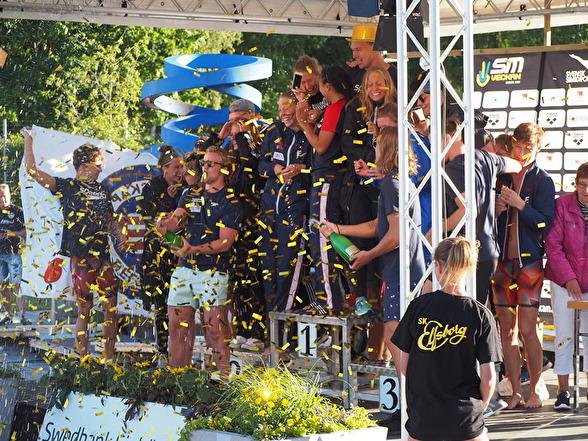 Helsingborg bästa klubb på seniorsidan på SM 2017