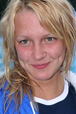 Sarah Sjöström efter rekord på Sum-Sim 2007