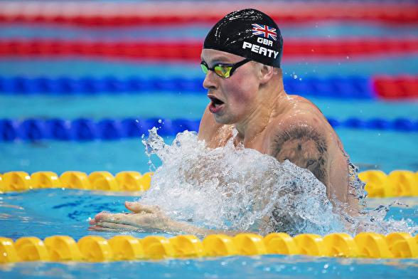 Adam Peaty slog mästerskapsrekord