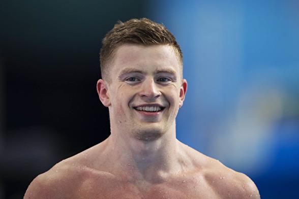 Adam Peaty slog världsrekord på 50m bröstsim