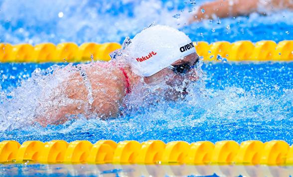 Katinka Hosszu leder 200m fjärilsim efter försöken