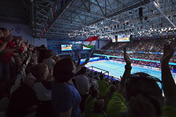 Mycket ungerska känslor när Laszlo Cseh simmade finalen på 200m fjärilsim