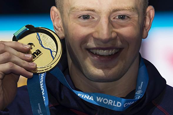 Andra guldmedaljen för Adam Peaty - nu på 50m bröstsim!