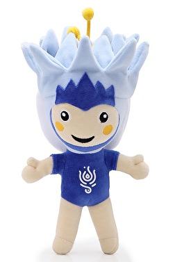 Lali - den manlige mascoten på VM