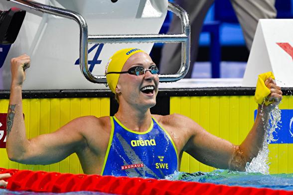 Sarah Sjöström fjärde världsrekord. NU har hon  50 och 100m fritt och fjäril på sin lista.