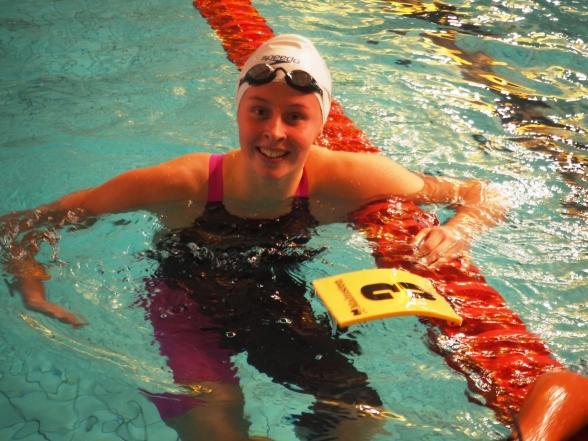 Sophie Hansson - seger på 200m bröstsim och personligt rekord.