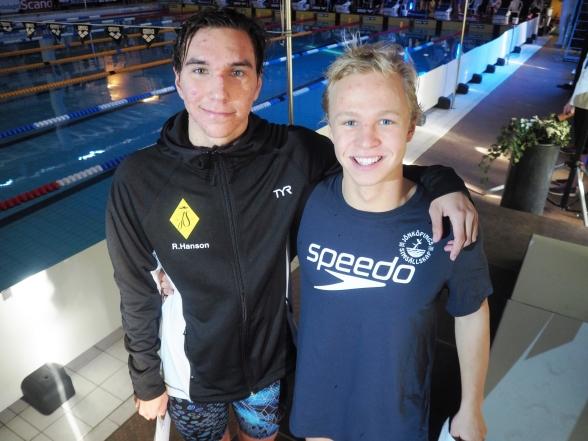 Robin Hanson och Victor Johansson