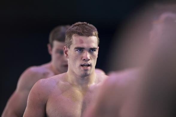 Sjätte raka SM-guldet på 50m bröstsim av Johannes Skagius