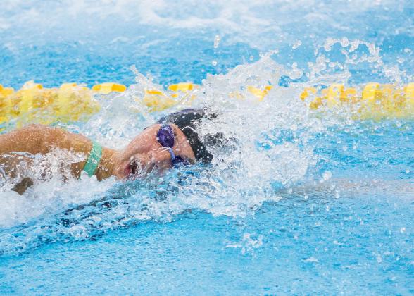 Magdalena Kuras tog sitt första SM-guld på 50m fritt