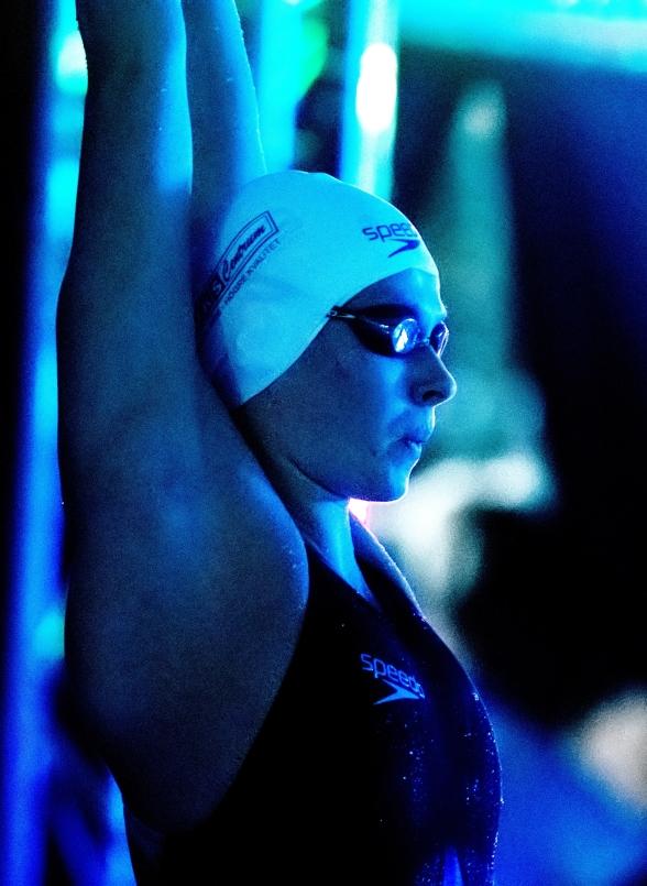 Sophie Hansson vann 50m bröstsim damer