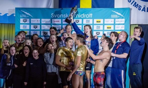 Helsingborg simmade till sig mest poäng under SM