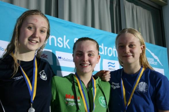 200m fjäril - Johansson - Jernstedt - Wijk
