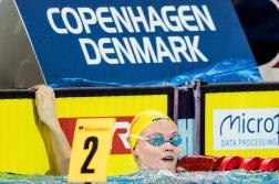 Vilma Ekström tiondelar över det personliga rekordet på 50m bröstsim