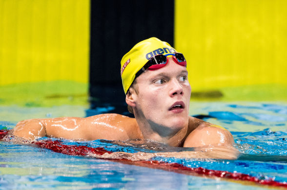 Adam Paulsson Elfsborg vidare till finalen på 400m fritt