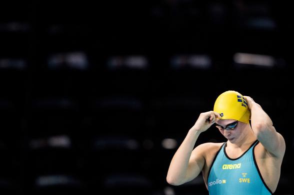 Sophia Hansson till final som tvåa på 50m bröstsim