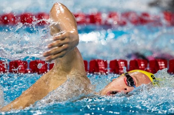 Svenskt rekord igen av Victor Johansson - på 1500m fritt