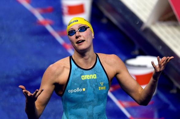 Finalmiss av Sarah Sjöström på 50m fjärilsim
