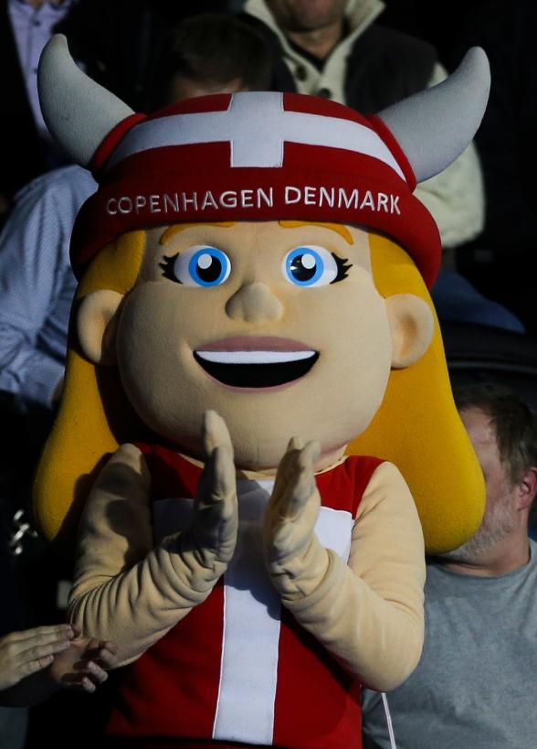 Tävlingsmascoten Dania!!!!