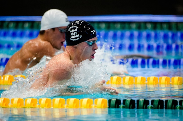 Erik Persson tvåa på 200m bröstsim