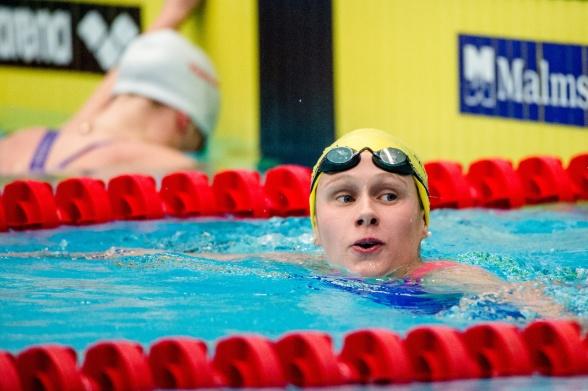 Personligt rekord och ny pallplats för Hanna Eriksson på 200m fritt