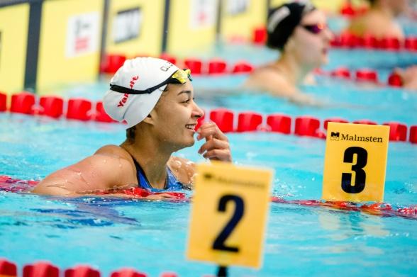 Mimosa Jallow - Finland vann 50m ryggsim