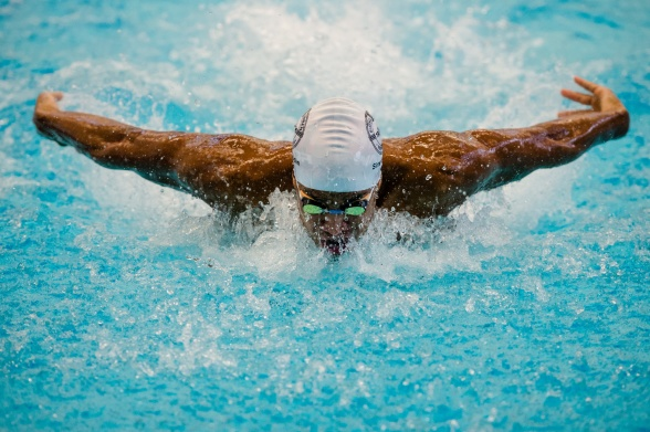 Simon Sjödin ende svensk i finalen på 100m fjäril herrar