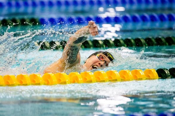 Sarah Köhler Tyskland vann 800m fritt damer