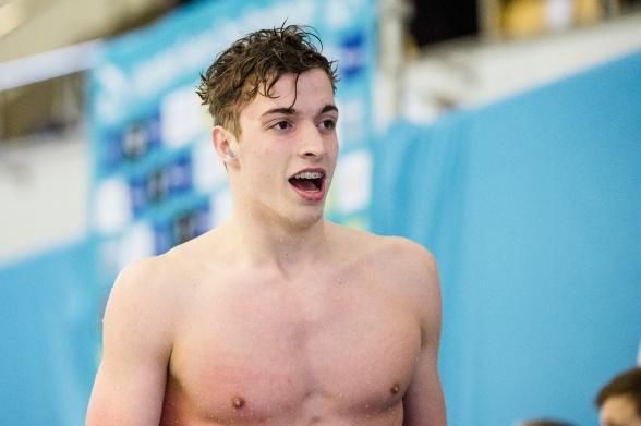 Svenskt juniorrekord av BJörn Seeliger på 50m fritt idag.