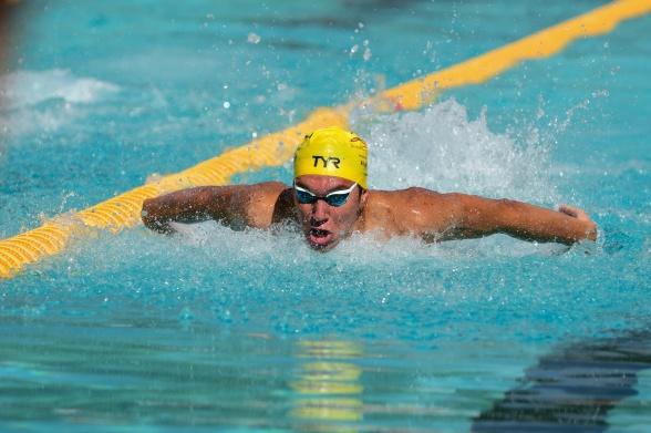 Robin Hanson Järfälla slog Sum-Sim rekordet på 100m fjärilsim två gånger den här lördagen !!