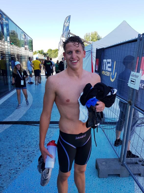 Nils Liess vann 200m fjärilsim