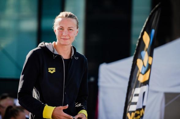 Sara Sjöström vann 50m fritt damer idag
