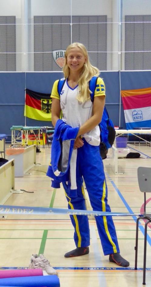 Hanna Bergman blev första utslagna på 50m fritt damer