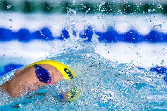 Victor Johansson femma på 400m fritt