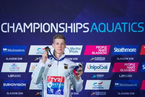 Florian Wellbrock vann 1500m fritt herrar