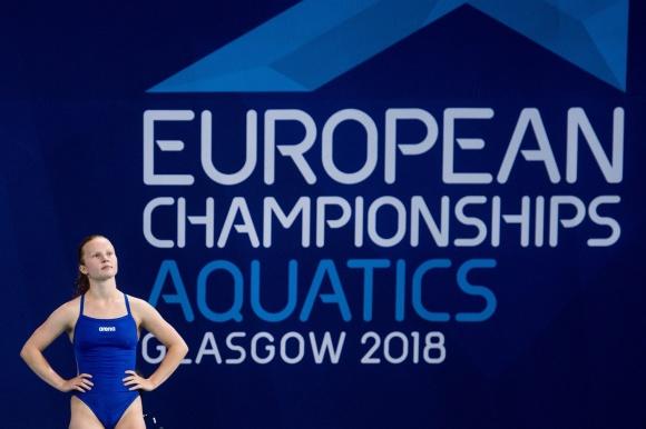 Ellen Ek och Vinko Paradzik deltog i gårdagens laghoppning på EM. Sjunde plats blev det. Tävlingarna avgörs inte i Glasgow utan i Edinburgh.