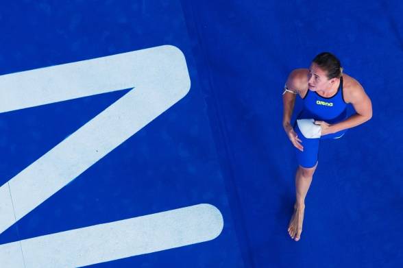 Ryska Fesikova vann 100m ryggsim i dagens final