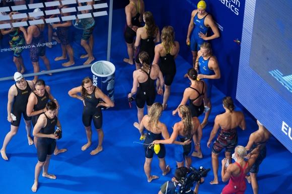 Svenska damlaget blev nior i lagkappen