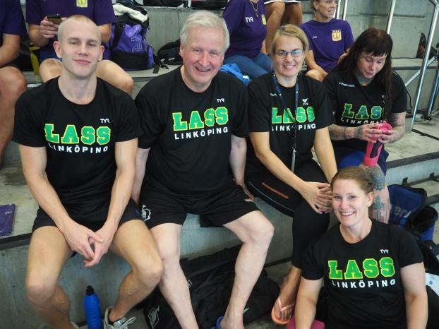 LASS-simmare som väntar på simexamen i Hyllie badet