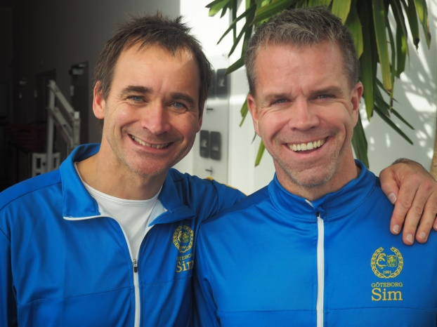 Två simmare från Göteborgs SIM