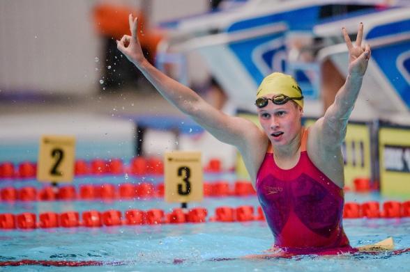 Hanna Eriksson slog ett 33 år gammalt svenskt juniorrekord ikväll !!!!!