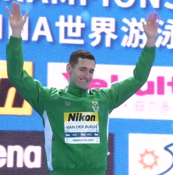 Cameron van der Burgh vann 50m bröstsim