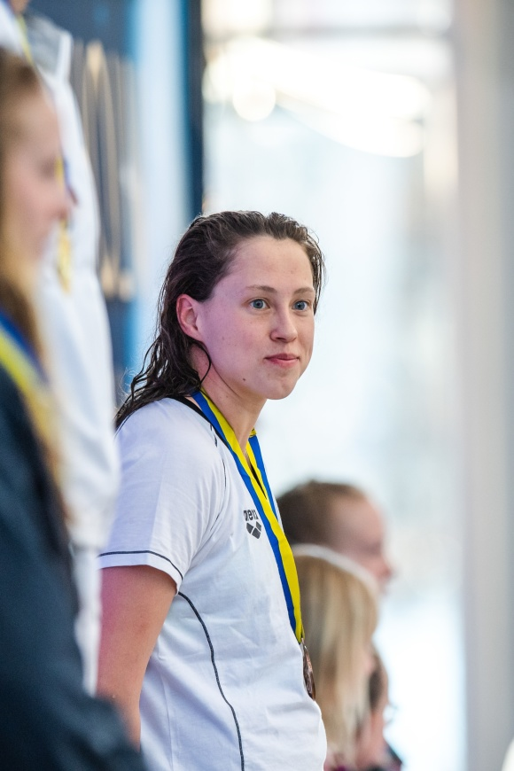 Sarah Köhler - favorittyngd tyska på 400m fritt fick se sig salgen.....