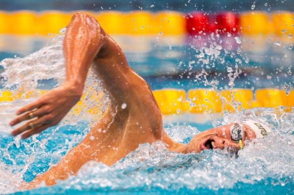 Mykhaylo Romanchuk vann 800m fritt herrar