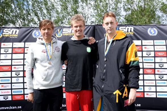 200m medley herrar juniorer