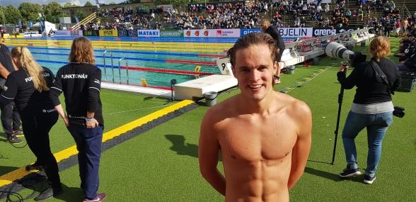 Samuel Törnqvist blev historisk med att vinna sin femte Sm-titel på samma Sm-tävling