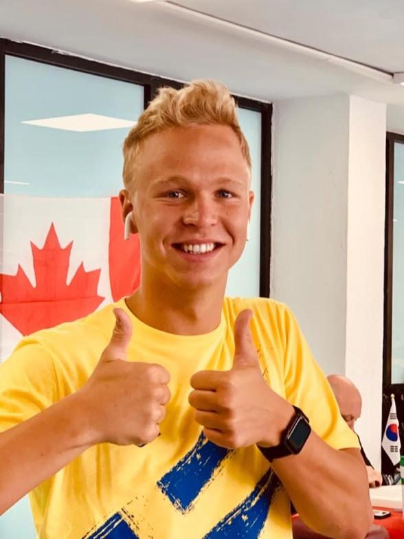 Femte plats blev det för Victor Johansson i dagens 400m fritt