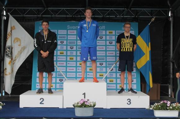 Resultat 14 100m Frisim Pojkar, 15 år