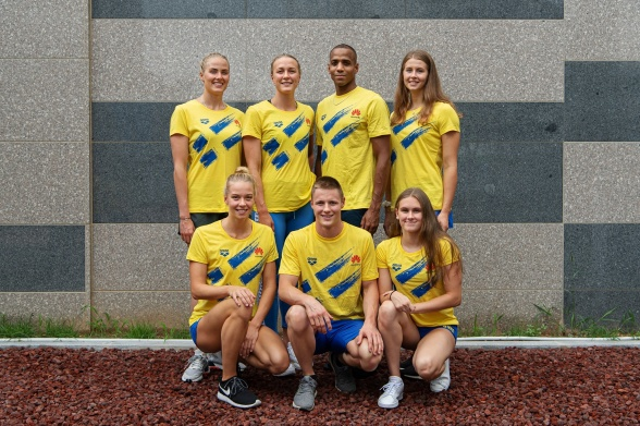 Svenska VM-truppen i KOrea