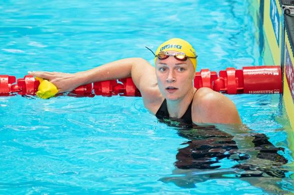 Sarah Sjöström efter 200m fritt idag