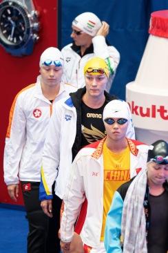 Sarah Sjöström före 200m fritt idag